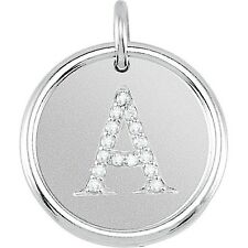 POSH MOMMY® Roxy DIAMOND DISC 18kt Yellow Gold Vermeil or Sterling Pendant VIDEO