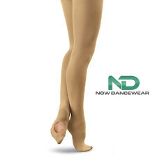 Convertible Transition Tan Dance Tights for Ballet and Shows