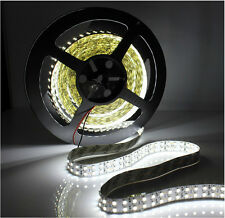 5M Double Row 3528 /5050 SMD Warm/Cool White Flexible LED Strip Light