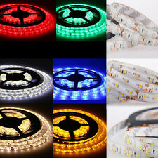 12V Waterproof 5M 3528 5050 SMD 300/600 LED Flexible Strip light Xmas