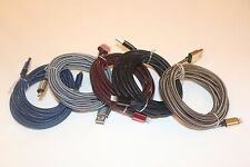 10x 10 FT Extra long braided USB Data Charging cable cord For Apple Iphone 5 6S