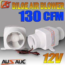 12V 130CFM IN-LINE BOAT BILGE AIR BLOWER SUIT 3