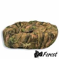 Camouflage Leaf Design, Heavy Duty, Waterproof Fabric Dog Bed, Great Pet Bed