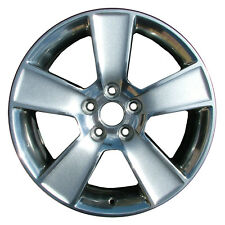 OEM Reman 18x8.5 Alloy Wheel, Rim Dark Charcoal Painted with Polished Face-3647