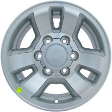 OEM Reman 15x7 Alloy Wheel Med Silver Sparkle Textured with Machined Face-69346