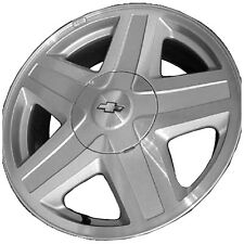 OEM Reman 17x7 Alloy Wheel, Rim Sparkle Silver Painted with Machined Face - 5142