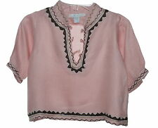 Marie Chantal Baby Kaftan Pink New With Defect 6 Months NWOT