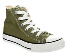 Converse Euro 27 UK 10 All Star Ct Spec Hi top young boys green sneakers shoes
