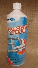 BOND IT 1L PVCu Solvent Cleaner double glazing conservatories windows doors pvc