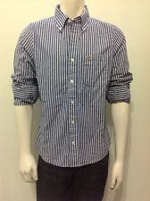HOLLISTER by Abercrombie Men Classic Striped Shirt NwT Medium 125