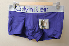Calvin Klein CK men Purple Steel Microfiber low rise trunk underwear size L, XL