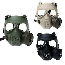 Military Tactical Full Face Practical Protector Gas Mask with Fan 3 Color Choose