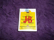SEALED J B Rare Scotch Playing Cards Poker 1985 New Collectible