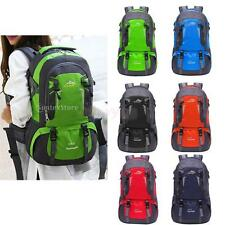 40L Outdoor Hiking Camping Travel Climb Military Luggage Rucksack Backpack Bag