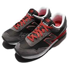 New Balance ML515SLA D Grey Red Suede Mens Running Shoes Sneakers ML515SLAD
