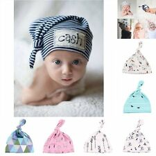 Toddler Kids Girl&Boy Hipster Baby Infant Crochet Knit Knotted Hat Beanie Cap