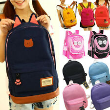 Children Shoulder Sports Bags Backpacks Schoolbag Leather Bookbags Primary Girl