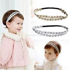 3-24M Newborn Toddler Baby Girl Cute Flower Headband Hair Band Headwear Accessoy