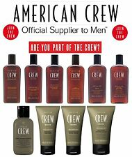 American Crew Shampoos, Conditioners, Body Wash and Shaving Products (ALL Types)
