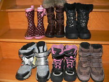 Columbia Geox Cougar Rocky Big Girl Canadian Winter Boots Copelli Rain 12 13 2 3