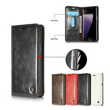 New Magnetic Flip Leather Wallet Card Stand Case Cover For Samsung Galaxy Note 7