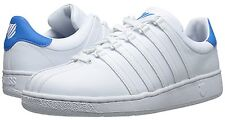 K SWISS 03343-146 CLASSIC VN Men's (M) White/Blue Aster Leather Lifestyle Shoes