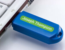 3cm Bright Star Kids Sticky Name Labels for Pencils - Personalised & Stick On
