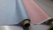 BRILLIANT QUALITY : STRIPE SHIRTING COTTON YD FABRIC: SELLING BY 1/2 MT: #9819