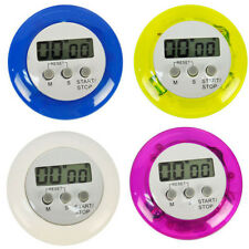 Digital Magnetic LCD Stopwatch Timer Kitchen Racing Alarm Clock Stop Watch CN