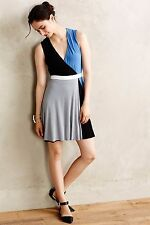 NWT Anthropologie by Bailey 44, Shadow Play Dress, Colorblock, Soft