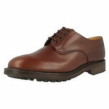 """Loake """"Epsom"""" Brown Waxy Leather Mens Shoes"""