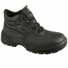 Chukka Safety ST Work Boots Leather Steel Toe Cap & Midsole Size 3.5-13.5 Mens