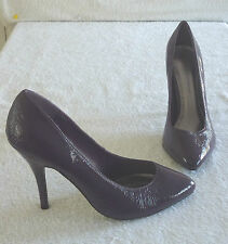 DOROTHY PERKINS HIGH HEEL PURPLE COURT  SHOES -- SIZE 7
