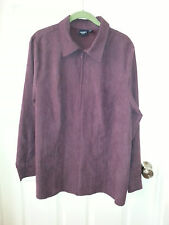 WOMEN'S ZIP UP JACKET BY SONOMA SIZE 1X LONG SLEEVE
