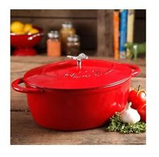 Pioneer Woman Timeless Beauty 7 Quart Dutch Oven With Bakelite & Butterfly Knob
