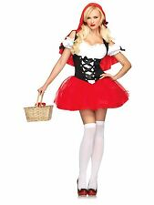 Sexy Racy Red Riding Hood Adult Costume