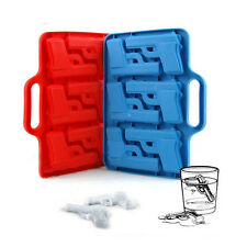 Fashion 3D Gun Shaped Ice Mold Freezer Ice Cube Tray Mold  Ice Cube Trays New