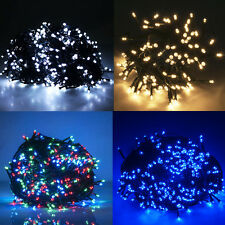 Battery Powered/Electric LED Lights Fairy String Twinkling Steady Tree Outdoor