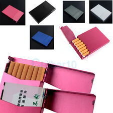 Thin Aluminum Credit Card Business Card holder Case Box Cigarette Case Can Track