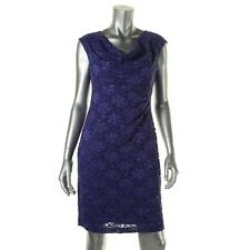 Connected Apparel 4230 Womens Lace Embellished Party Cocktail Dress Petites BHFO