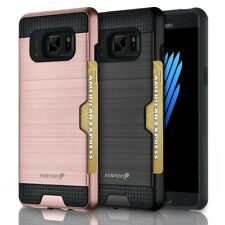 Fosmon Dual Layer Hybrid Sturdy Card Slot Case Skin for Samsung Galaxy Note 7