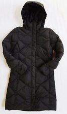 New with Tag The North Face Womens Miss Metro Parka Jacket Coat TNF Black Small