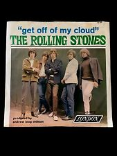 """THE ROLLING STONES GET OFF OF MY CLOUD 7"""" 45 RPM & PICTURE SLEEVE"""