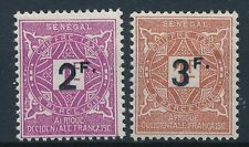 [50667] Senegal Due 1927 good set of MH Very Fine stamps