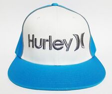 HURLEY ONLY CORP Hat Cyan FLEXFIT ($28) NEW Cap Surf Skate Ski ONE CLASSIC Rare