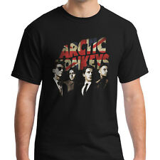 New The ARCTIC MONKEYS British Rock Band Black T-Shirt Size S-3XL