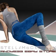$160 adidas Stella McCartney Womens Essentials Seamless Tights Climalite® XS S M