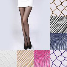 Women Sexy Girl Fishnet Pattern Pantyhose Tights Punk Stockings Fashion UK