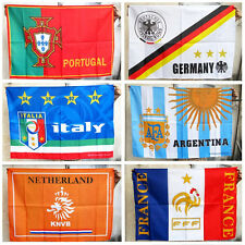 UEFA Fans Soccer Flag Portugal Italy Germany England France Soccer Banners Flags
