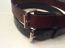 """Men's Leather Belt-1 1/2""""- Amish Made- sizes 30-50  Jeans, Tool or Holster-USA"""